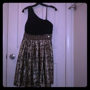 WHBM One- Shoulder Dress